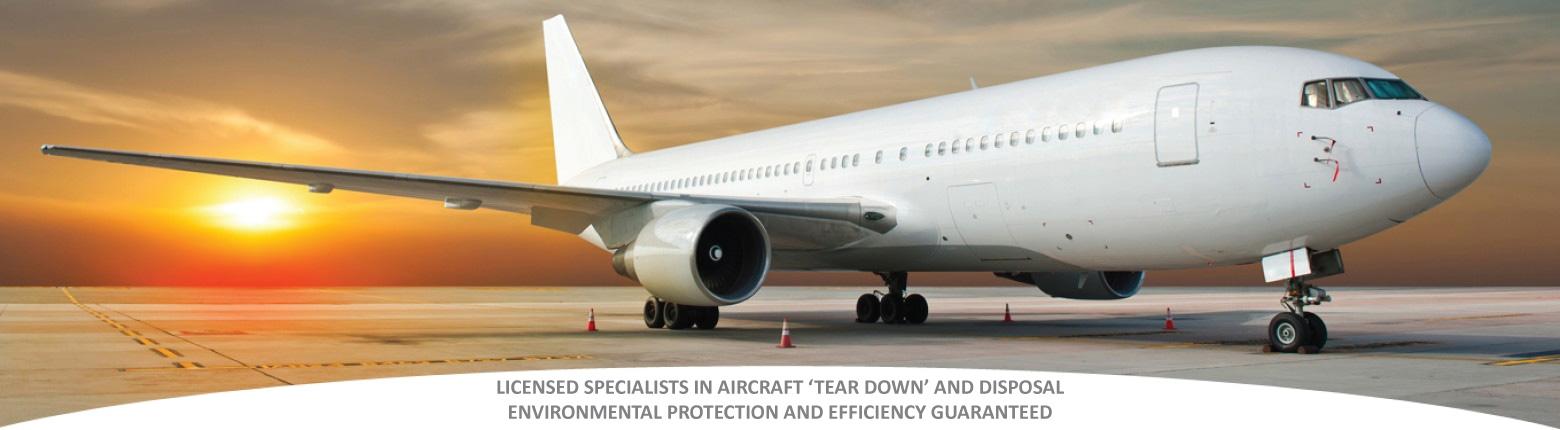 environmentally friendly aircraft disposal